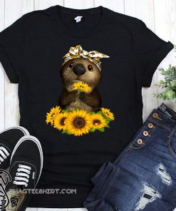 Sunflower otter shirt
