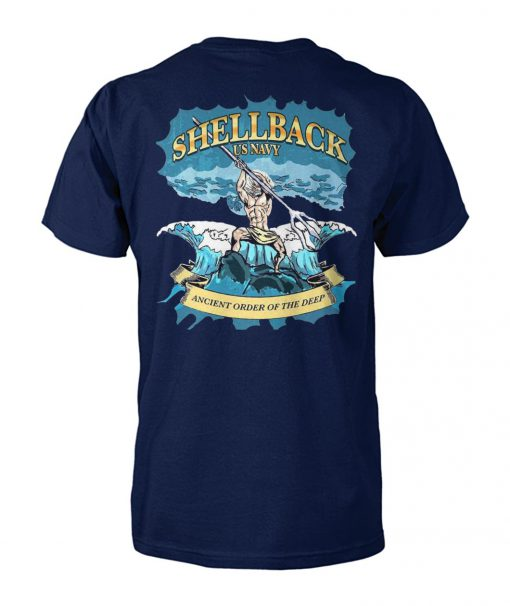 US navy shellback ancient order of the deep unisex cotton tee