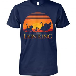 Vintage walt disney the lion king unisex cotton tee