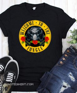 Welcome to the jungle predator shirt