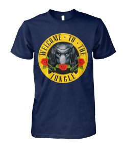 Welcome to the jungle predator unisex cotton tee