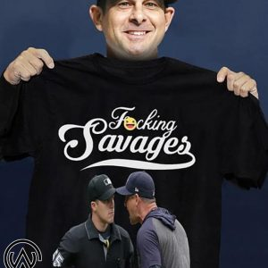 Yankees manager aaron boone fucking savages my guys are savages in that box shirt