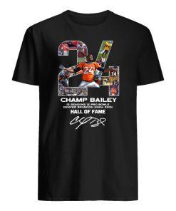 24 champ bailey denver broncos hall of fame signature men's shirt