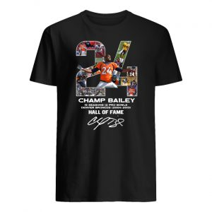 24 champ bailey denver broncos hall of fame signature men's shirt