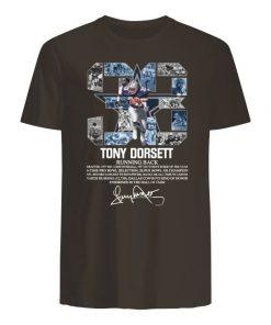 33 tony dorsett dallas cowboys running back signature men's shirt