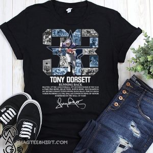 33 tony dorsett dallas cowboys running back signature shirt