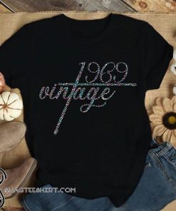 50th birthday vintage 1969 shirt