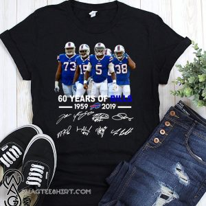 60 years of bills 1959 2019 signatures shirt