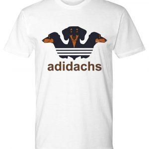 Adidas dachshund adidachs premium tee