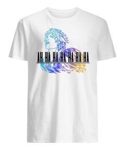 Ah ha ha final fantasy tidus men's shirt