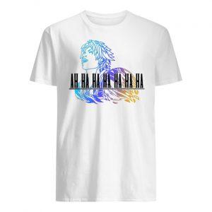 Ah ha ha final fantasy tidus men's shirt