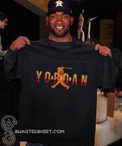 Air yordan 44 houston astros shirt