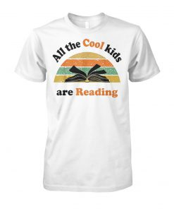 All the cool kids are reading vintage unisex cotton tee