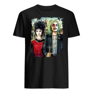 American gothic beetlejuice halloween men's shirt