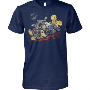Bots before time transformers and the land before time unisex cotton tee