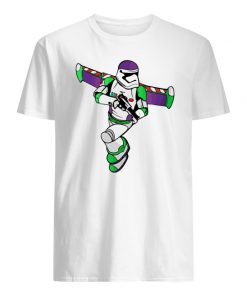 Buzz lightyear stormtrooper star wars men's shirt