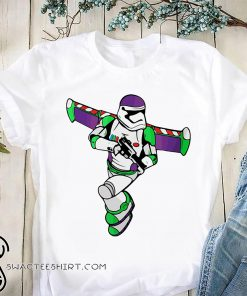 Buzz lightyear stormtrooper star wars shirt