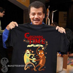 Cosmos time the space adventures of carl and neil shirt