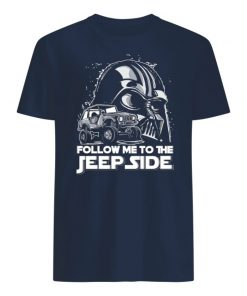 Darth vader follow me to the jeep side men's shirt