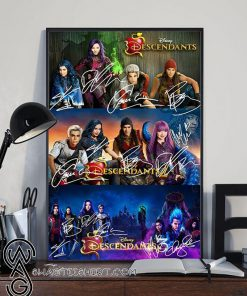 Disney descendants 1 2 3 poster