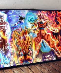 Dragon ball z super son goku poster