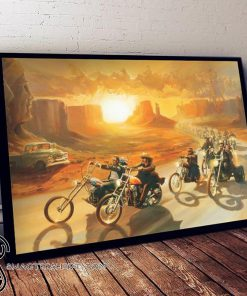 Easy rider american road bikers movie 1969 poster