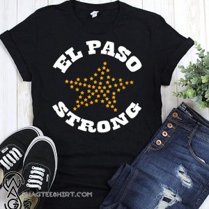El paso strong pride texas flag shirt