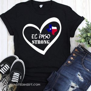 El paso strong texas flag shirt