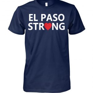 El paso strong unisex cotton tee