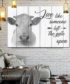 Farm live like someone left the gate open poster