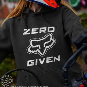 Fox racing zero given shirt