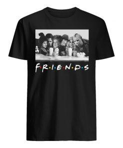 Friends sanderson sisters and freddy krueger jason voorhees michael myers men's shirt