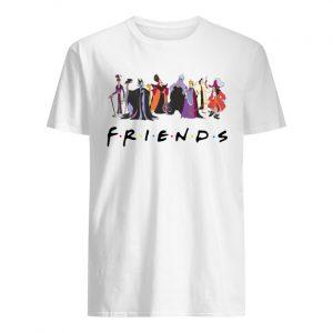 Friends tv show disney villains men's shirt