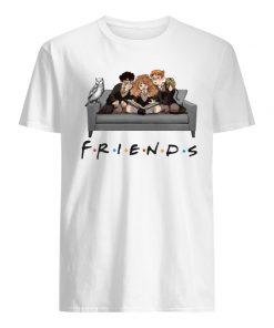 Harry potter characters friends tv show men's shirt