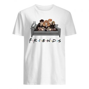 Harry potter characters friends tv show men's shirt