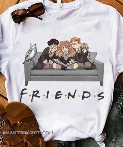 Harry potter characters friends tv show shirt