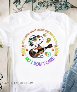 Hippie yes I know what I look like right now no I don't care snoopy shirt