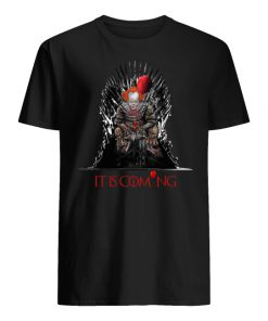 IT is coming pennywise game of thrones men's shirt