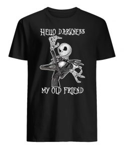 Jack skellington hello darkness my old friend men's shirt