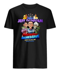 Jeff dunham passively aggressive bridgeport ct march 16 2019 men's shirt