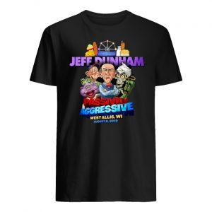 Jeff dunham passively aggressive bridgeport ct march 16 2019 men's shirt