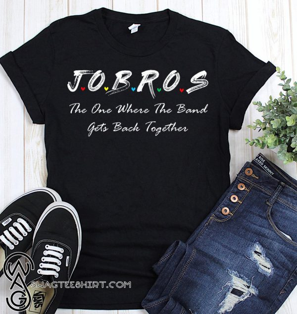 Jobros the one where the band get back together friends tv show shirt