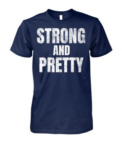 Motivation strong and pretty unisex cotton tee