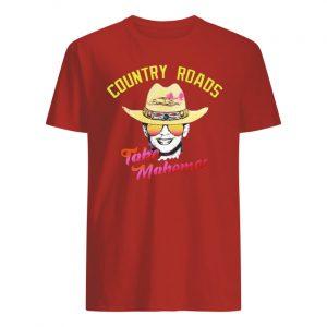 Patrick mahomes country roads take mahomes kansas city chiefs men's shirt