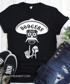 Skull los angeles dodgers shirt