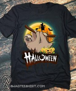 Sloth halloween shirt
