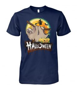 Sloth halloween unisex cotton tee