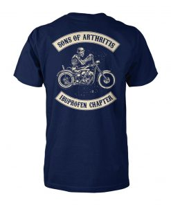 Sons of arthritis ibuprofen chapter biker unisex cotton tee