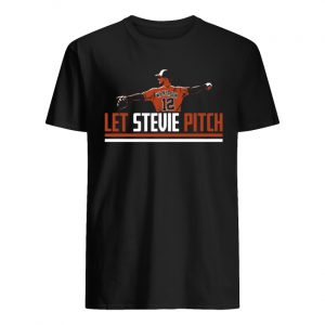 Stevie wilkerson let stevie pitch men's shirt