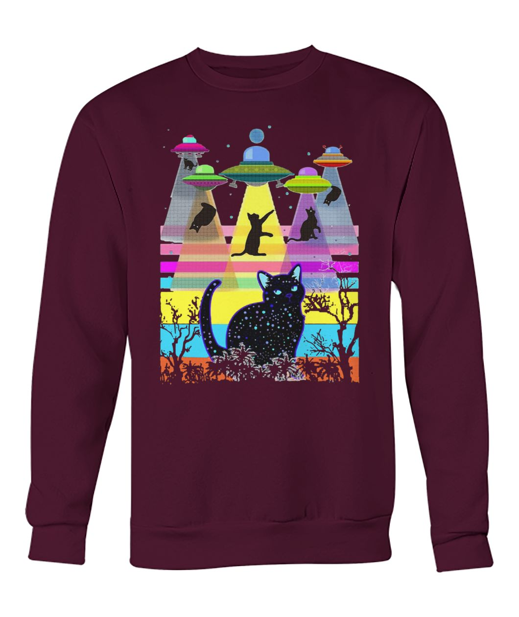 Storm area 51 they can't stop all of us cats crew neck sweatshirt